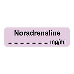 Syringe Label - Noradrenaline mg/ml