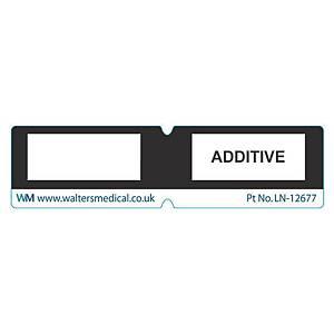 Line Label - ADDITIVE Black
