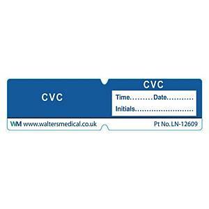 Line Label - CVC Blue