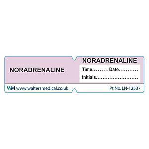 Line Label - NORADRENALINE Lilac