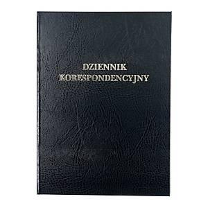 Książka korespondencyjna, twarda oprawa, 96 kartek
