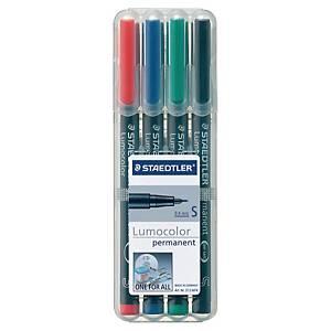 스테들러 STAEDTLER 유성펜 313 lumocolor 0.4mm 세트 (10개 구매시 다스구성)