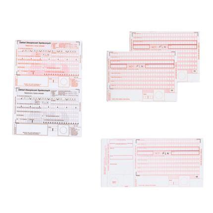 Druk Emerson Polecenie Przelewu Zus A6 60 Kartek