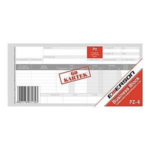 Druk EMERSON PZ - Przyjęcie materiału 1/3 A4, 60 kartek