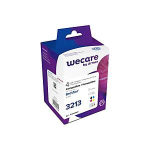 WECARE Multipack new built CMYBK LC-3213V z.Brother DCP-J774 11/3x6.6ml