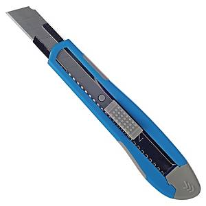 Lyreco refillable knife with softgrip 18mm + 1 knife