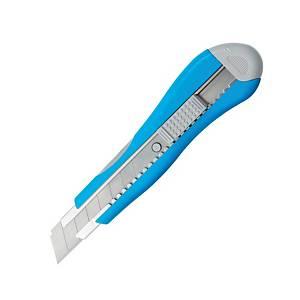ลีเรคโก มีดคัตเตอร์ 18มิลลิเมตร สีฟ้า