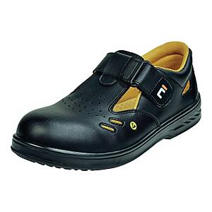 Sandały CERVA RAVEN  ESD O1 SRC, czarne, rozmiar 38
