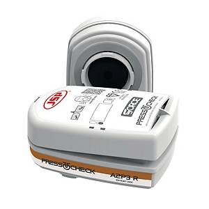 Filter JSP BMN740-000-600, Typ A2P3, für Force™ 8 PressToCheck™ Halbmaske, 10 P.
