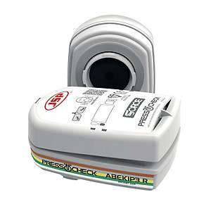 Filter JSP BMN750-000-600, Typ ABEK1P3, f.Force™ 8 PressToCheck™ Halbmaske, 10P.