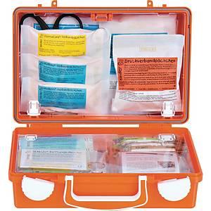 Erste-Hilfe-Koffer Söhngen 0350100 Quick CD SCHULE, mit Füllung, orange