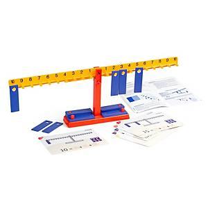 Set de actividades y guía de balanza numérica