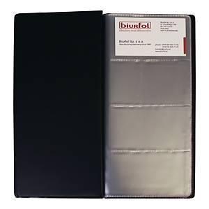 BIURFOL WI-04 B/CARD FOR 96 CARDS BLK