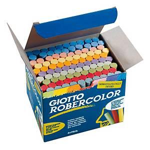 Gessi lavagna Giotto colori assortiti - conf. 100