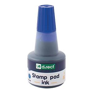 D.RECT 105353 STAMP PAD INK 30ML BLUE