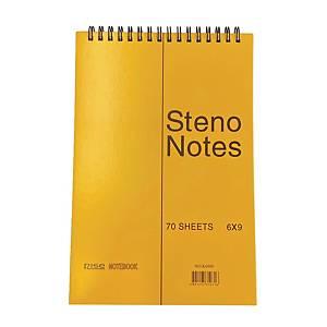 RISE K6980 Steno Notebook 6 inch x 9 inch