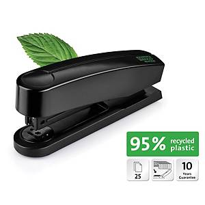 RE+NEW B2 0201931 STAPLER RECY PLAST BLK