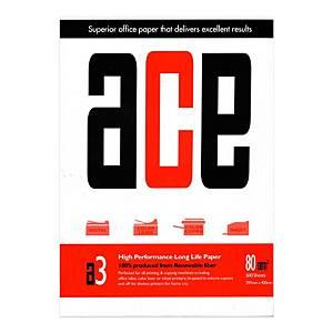 ACE A3 影印紙 80磅 - 每捻500張