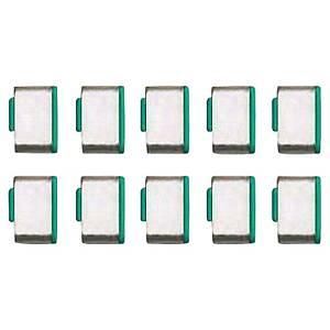 Bloqueur port USB Type C Lindy - vert - 10 pièces