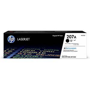Toner HP No. 207A W2210A, 1 350 Seiten, schwarz