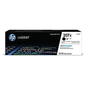 HP 207X W2210X laservärikasetti musta