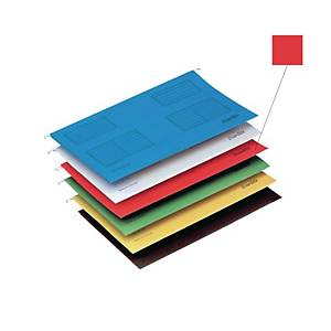 Bantex F4 Suspension File Red - Pack of 25