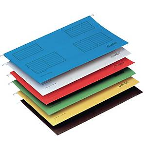 Bantex F4 Suspension File Blue - Pack of 25