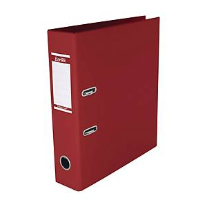 Bantex 辦得事 全包膠檔案夾 A4 3吋 紅色