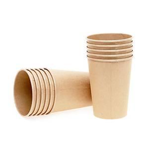 可生物降解飲用紙杯 8安士 - 50個裝