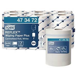 Tork 473472 Reflex Plus középtekercselésű papírtörlő, fehér