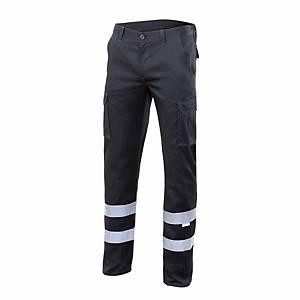 Pantalón multibolsillo alta visibilidad Velilla 103014S - negro - talla 44