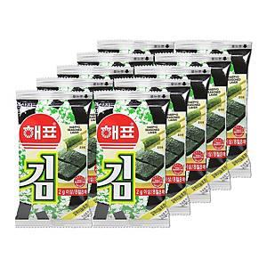 SAJO LAVER 韓國原味紫菜 2克 - 10 包裝