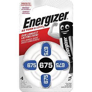 ENERGIZER675 ZINCAIR HEARINGAID BATTERY