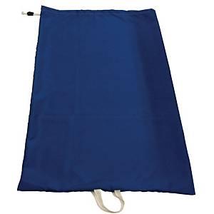 Pyykinkuljetussäkki kangas 150L 110 x 170cm sininen