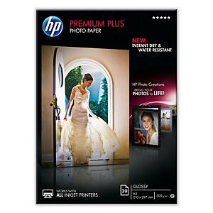 HP Premium Plus Glossy Photo Paper – A4, 300GSM