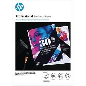 Fotopapir HP Professional Business 3VK91A, A4, 180 g, æske a 150 ark