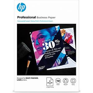 HP Inkjet, PageWide and Laser Professional Business Paper – A4, glossy, 180gsm