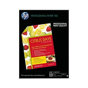 Pacote de 150 folhas de paper HP Profesional Gloss Inkjet A4 180 gr