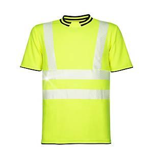 Reflexné tričko s krátkym rukávom Ardon® Signal, veľkosť XL, žlté