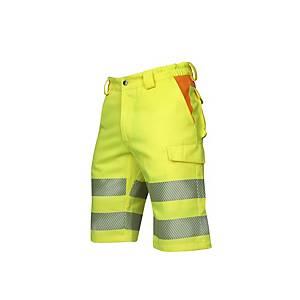 Reflexné krátke nohavice Ardon® Signal, veľkosť 52, žlté