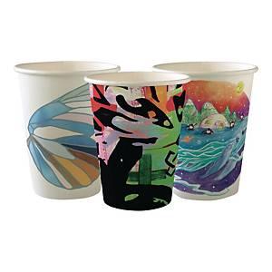 Kubeczki papierowe DUNI Art, 350 ml, 50 sztuk