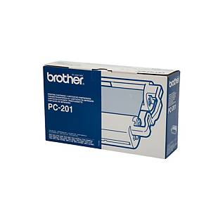 Brother PC201 Original Ink Film Ribbon Fax Cartridge
