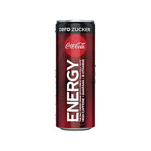 Coca Cola Energy Zero, Dose à 250ml, Packung à 12 Dosen