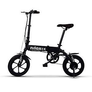 /Bicicletta elettrica Nilox X2 plus nero