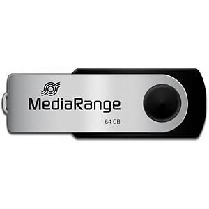 MediaRange USB-Stick USB 2.0, Kapazität 64 GB