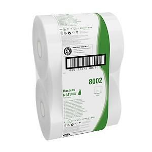 Kimberly Clark Hostess Jumbo 8002 Toilettenpapier, 525 m, 1-lag., weiß, 6 Stk