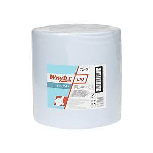 Kimberly Clark Wypall L10 Extra 7240 Industrierolle, blau