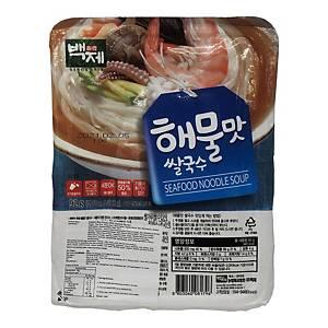 BJ 百濟韓國海鮮味即食米線 92克