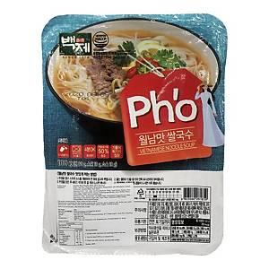 BJ 百濟韓國牛肉味即食米線 100克