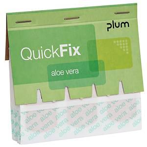 Nachfüllpflaster QuickFix, Aloe Vera, Packung à 45 Stück